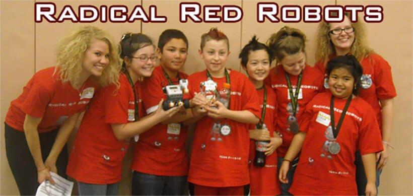 Radical Red Robots - The First Lego League