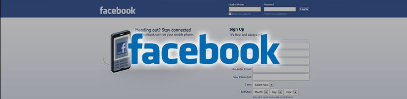 Facebook Screenshot & Logo
