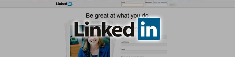 Linkedin Screenshot & Logo