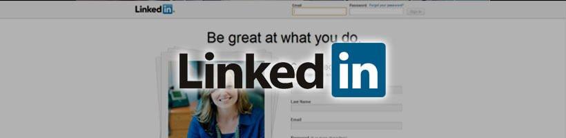 Linkedin Screenshot & Logo
