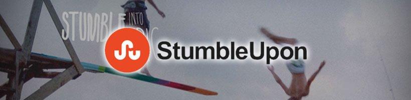 Stumble Upon Screenshot & Logo