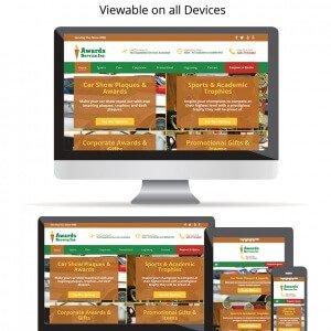 Awards Service - Mobile Friendly Design
